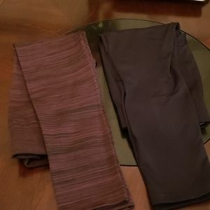 2pairs Terra & Sky Winter leggings